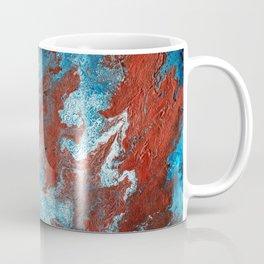 Fantasy in Copper and Blue Coffee Mug
