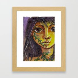 Wild Fae Framed Art Print