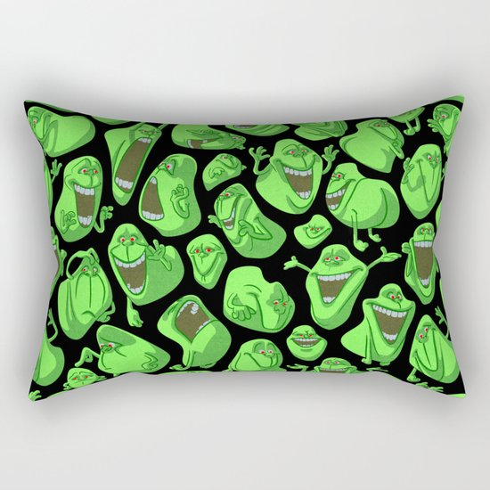 Fifty shades of slime. Rectangular Pillow