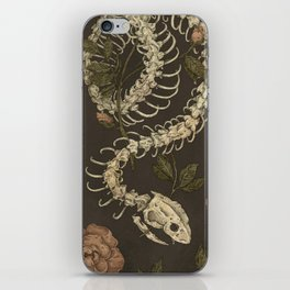 Snake Skeleton iPhone Skin