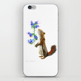 Take Time To Smell The Flowers by Teresa Thompson iPhone Skin