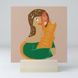 Sassy Kittycat Mini Art Print