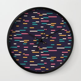 Pattern # 3 Wall Clock