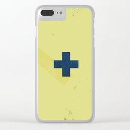 Nautical Flag Clear iPhone Case