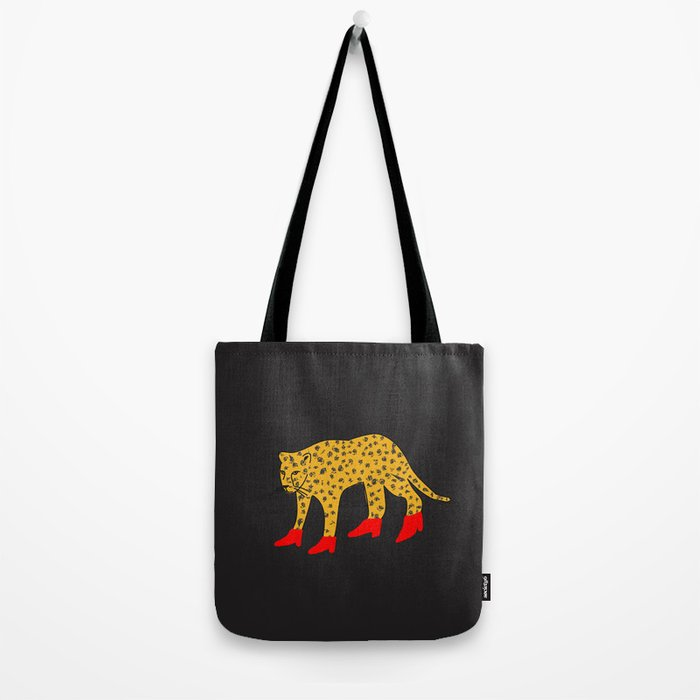 Red Boots Tote Bag