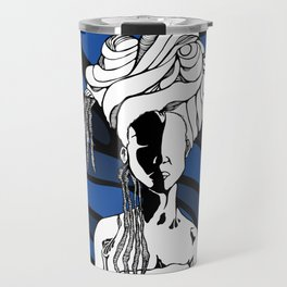 Loc'd in Blue Travel Mug