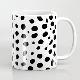 Black And White Cheetah Print Coffee Mug