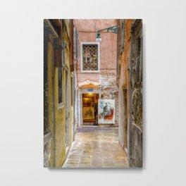 Venezia- Art Galery Metal Print