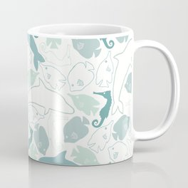 Ocean animals pattern Coffee Mug