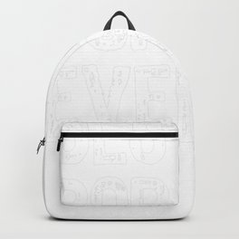 Best Bop-Bop Ever Cool Funny Father's Day BopBop Backpack