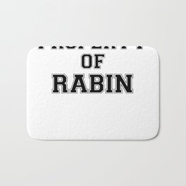Property of RABIN Bath Mat