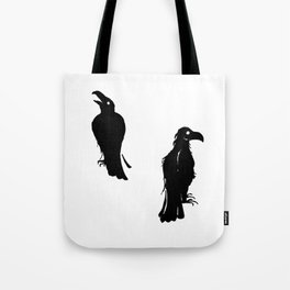 What Hugin Saw & Munin Said Tote Bag