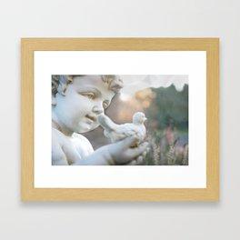 A Angel is Hope Framed Art Print