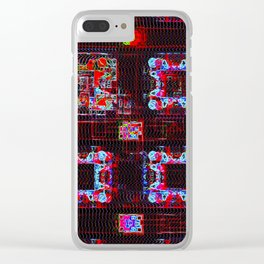 Scramble Clear iPhone Case