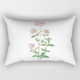Oregano flower Rectangular Pillow
