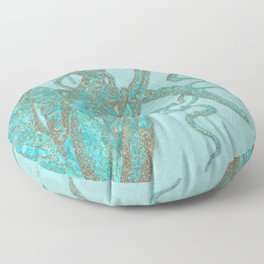 Stardust Tentacles Octopus Floor Pillow