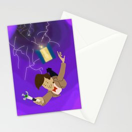 11th Doctor in the Vortex Stationery Cards