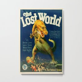 Vintage poster - The Lost World Metal Print