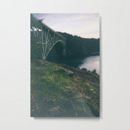 Deception Pass Bridge I Metal Print