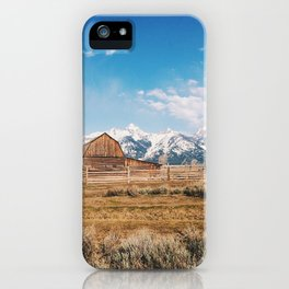 The Grand Tetons iPhone Case