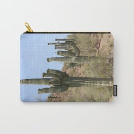 A Cacti in the Desert Carry-All Pouch