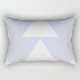 Southwestern Triangles No. 2 in Big Sky Rectangular Pillow