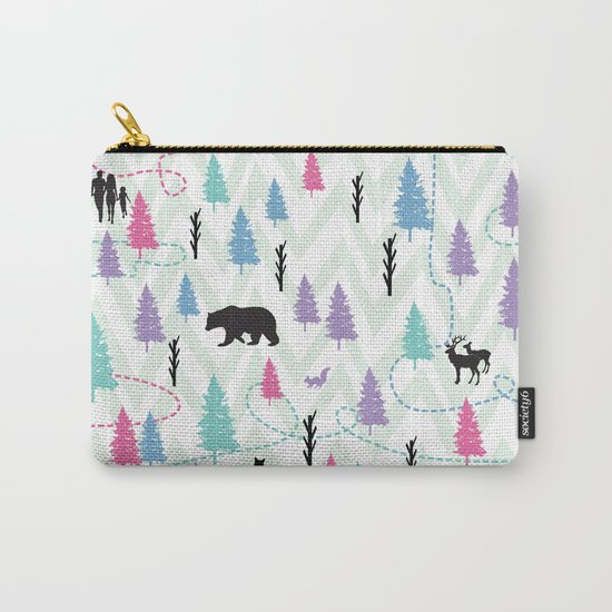Forest Walk Carry-All Pouch