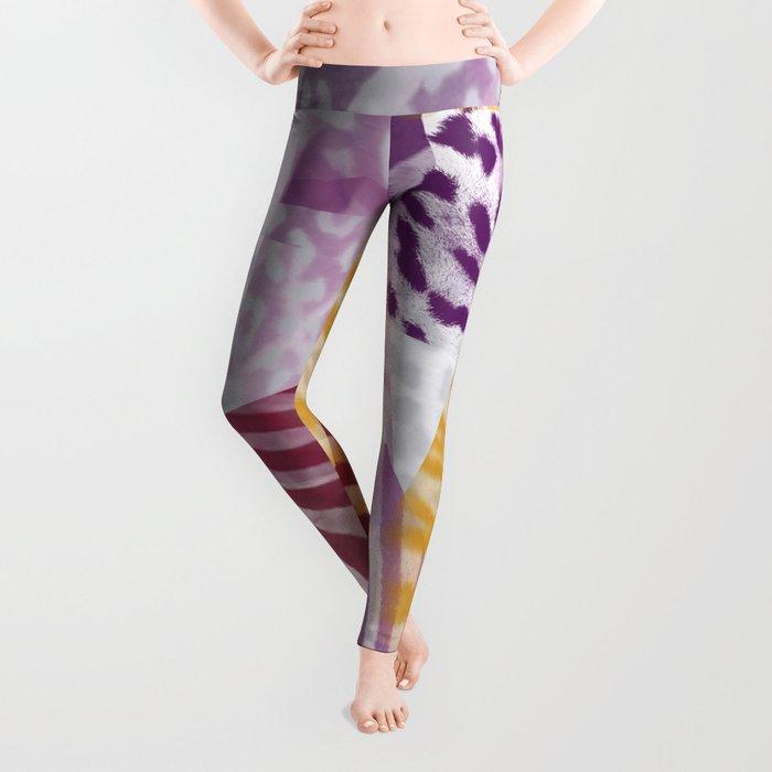 Abstract safari pattern Leggings