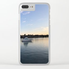 Barely a ripple Clear iPhone Case