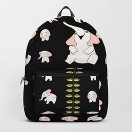 White Elephants in My Room Backpack