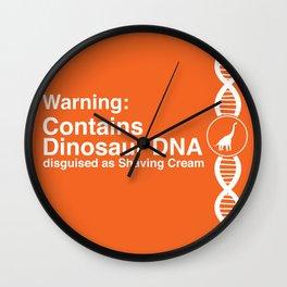 Dinosaur DNA Wall Clock