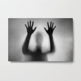 Spooky Shadow Metal Print