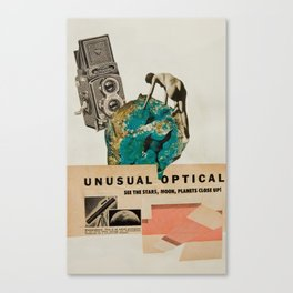 Unusual Optical  Canvas Print