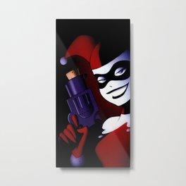 Harley Quinn Custom Metal Print
