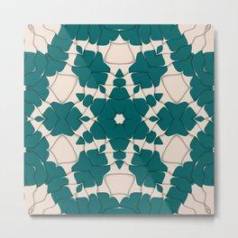 Rippled Pattern Art Print | Abstract Art | Pattern Wall Art| Wall Decor | Arr Metal Print