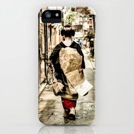 Kyoto Maiko 2 iPhone Case