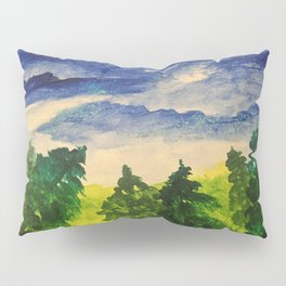 Blue skies Pillow Sham