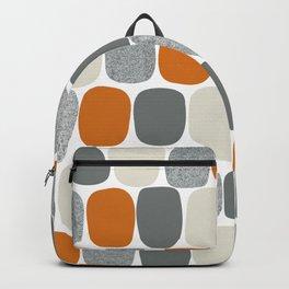 Wonky Ovals in Orange Backpack