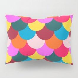 Scalloped Confetti in Mod Multi Pillow Sham