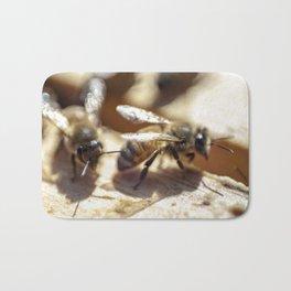 2 Bee or Not 2 Bee Bath Mat
