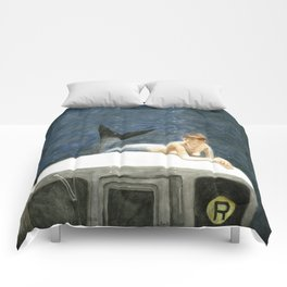 The Montague Street Tunnel Comforters