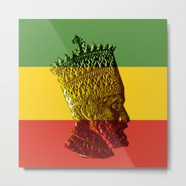 Selassie I Metal Print