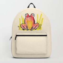 Red Frog Backpack
