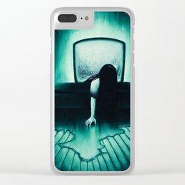 She Never Sleeps Clear iPhone Case