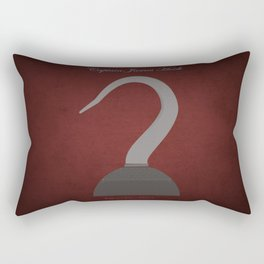 Captain James Hook | Villains do It Better Rectangular Pillow