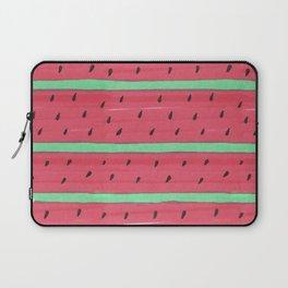 Watermelon lines Laptop Sleeve
