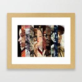 Art work by Patricia Ortega Framed Art Print