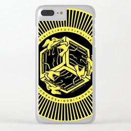 ART 1 HUMAN RIGHTS Clear iPhone Case