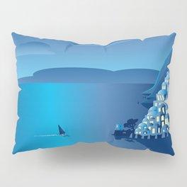 Positano by Night Pillow Sham