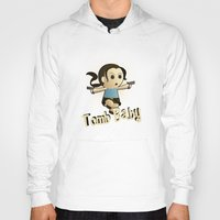 lara croft Hoodies featuring Geek Babies: Lara by Deanna Marie: Art & Design